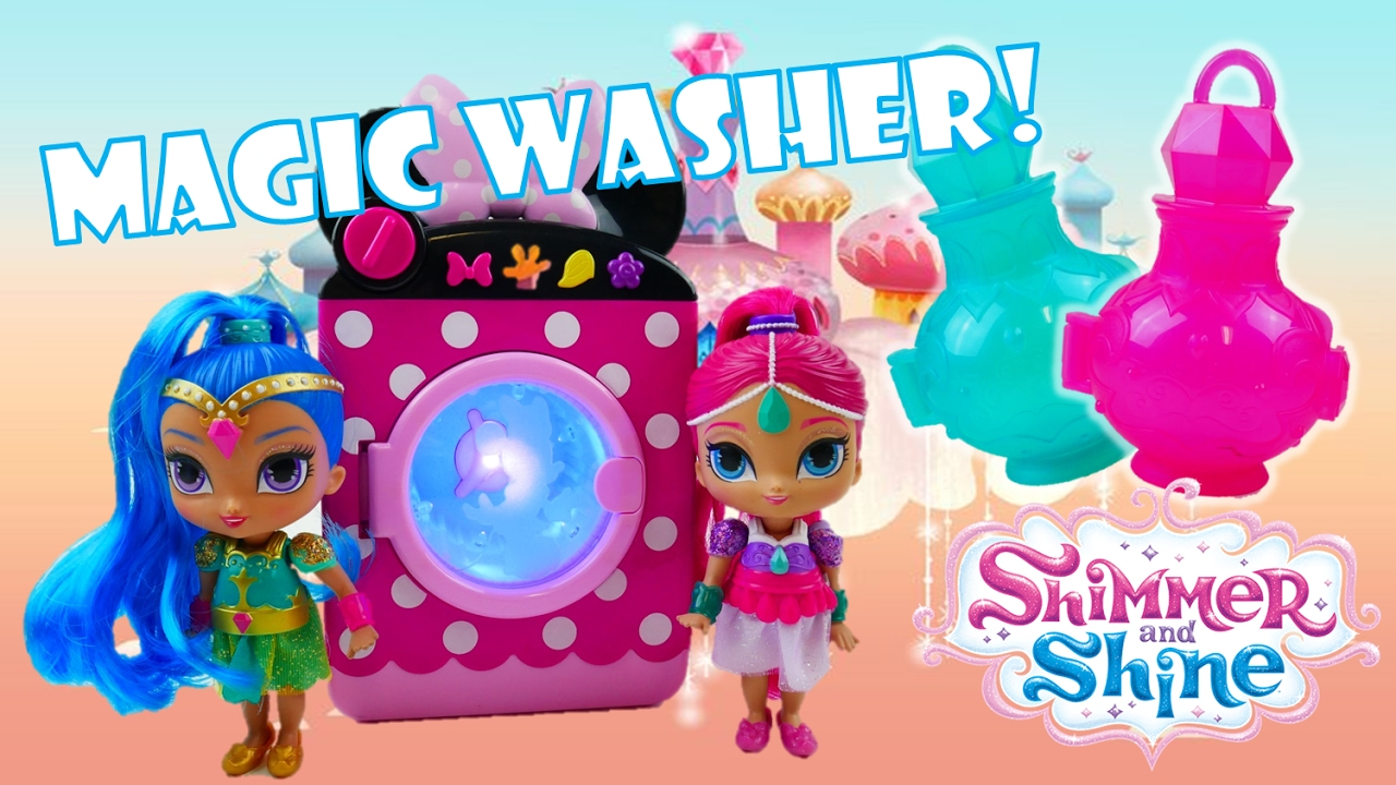 Shimmer and Shine Magic Washing Machine Genie Surprise Toys | Evies Toy House