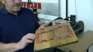 Die Cutting And Creasing Press Demonstration