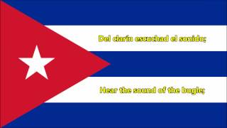 National anthem of Cuba (ES/EN lyrics)