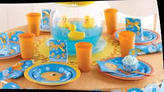 Rubber Ducky Themed Baby Shower Ideas