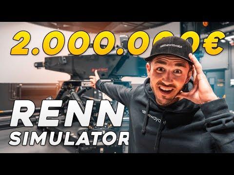 Der 2 MILLIONEN € Audi RENNSIMULATOR!   Daniel Abt