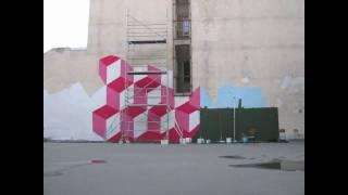 Street art az iskolaudvaron