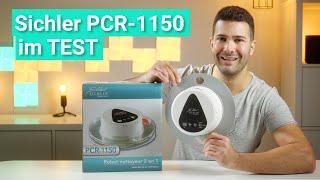 Sichler PCR-1150 im Test - Das leistet der runde, knapp 100€ teure Wischroboter!