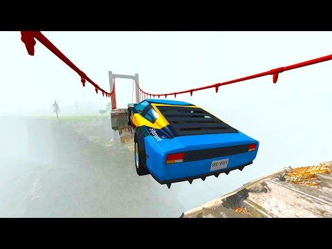 Epic Crashes & Destruction ★BeamNG drive★ Dizzying Jumps Chases Test Drive Cars / Drive2Live