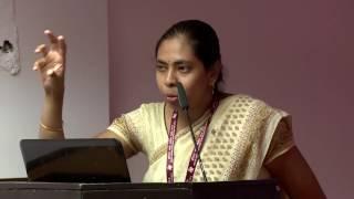 Our young Sanskrit scholar Sowmya tears apart Pollocks claim that Sanskrit grammar
