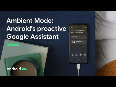 Ambient Mode per Google Assistant in arrivo su Android