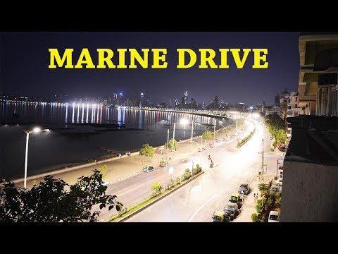 Marine Drive Mumbai || Hotel Sea Green View || Enjoying Sunset