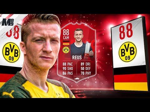 FIFA 19 POTM REUS REVIEW | 88 POTM REUS PLAYER REVIEW | FIFA 19 ULTIMATE TEAM
