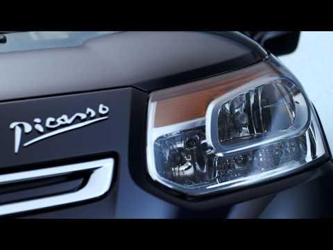 Видео рестайлинг Citroen C3 Picasso