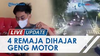 Detik-detik Geng Motor Rampok 4 Remaja, Aksi Terekam CCTV di Sekitar Rumah Dinas Walkot Medan