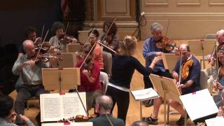 The BSO Rehearsing Mozart With Anne-Sophie Mutter