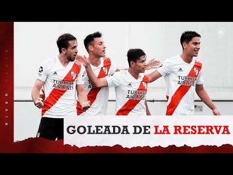 Los SIETE goles de la Reserva a Colón
