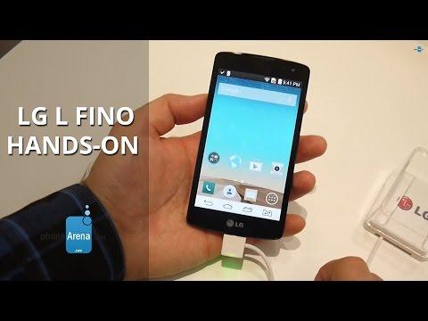 LG L Fino Hands-on