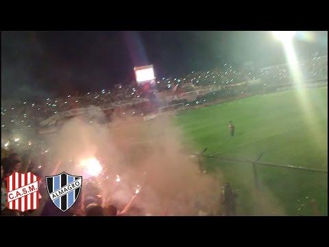 """""""Recibimiento de San Martín de Tucumán VS Almagro"""" Barra: La Banda del Camion • Club: San Martín de Tucumán"""