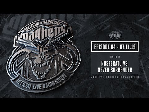 Masters of Hardcore Mayhem - Nosferatu & Never Surrender | Episode #004