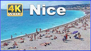 【4K】WALK Nice FRANCE 4k Video FRENCH RIVIERA Travel Channel