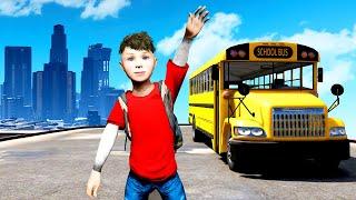 GOING TO SCHOOL in GTA 5!