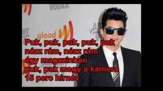 Adam Lambert - Pop Goes The Camera (magyarul) hun sub