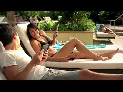 Commercial for Amazon Kindle (2010 - 2011) (Television Commercial)