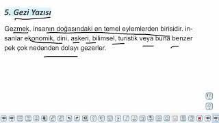 Eğitim Vadisi AYT Edebiyat 33.Föy Öğretici Metinler Konu Anlatım Videoları
