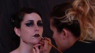 Tuto Make Up Cabaret Vintage_ Concours NYX FACE AWARD _ Par Anaïs Périé