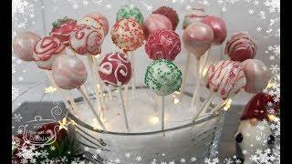 Φανταστικά Χριστουγενιάτικα Cake Pops - Christmas Cake Pops