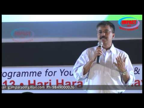 How to become CEO|Suresh Kumar|TELUGU IMPACT Hyd 2013
