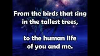 Starry Night w/lyrics By Chris August