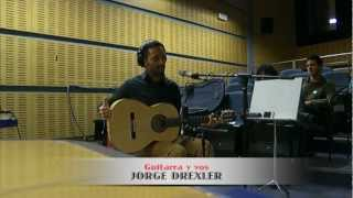 """Jorge Drexler en 'Abierto hasta las 2: """"Guitarra y vos"""""""