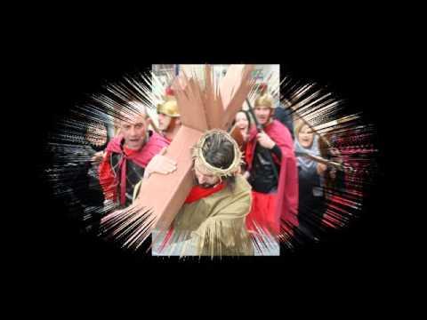 Alia,la via Crucis.
