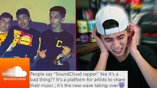 REACTING TO LOCAL SOUNDCLOUD RAPPERS... *CRINGE WARNING*