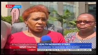 News Centre 14th December 2016 - Day nine of Health Workers Strike