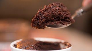 How to make a Super Moist Microwave Chocolate Mug Cake