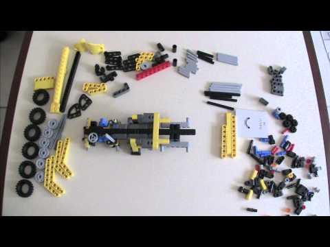 Vidéo LEGO Technic 8067 : La mini grue mobile