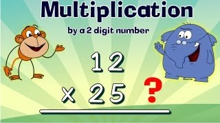 Multiplication by 2 Digit Numbers