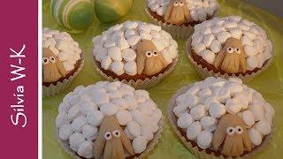 Osterlämmchen / Schäfchen / Muffins