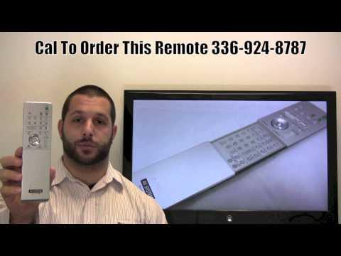 SONY RMADP002 Remote Control PN: 147922711 - www.ReplacementRemotes.com