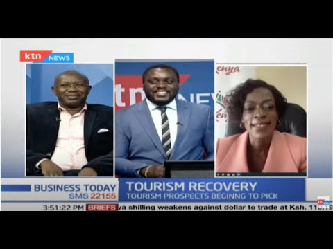 Tourism Recovery: Conversation with CEO KTB, Dr Betty Radier & G.M. Tamarind Tree, John Musau