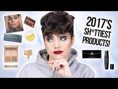 WORST PRODUCTS OF 2017!!! *DO NOT BUY!* | Thomas Halbert