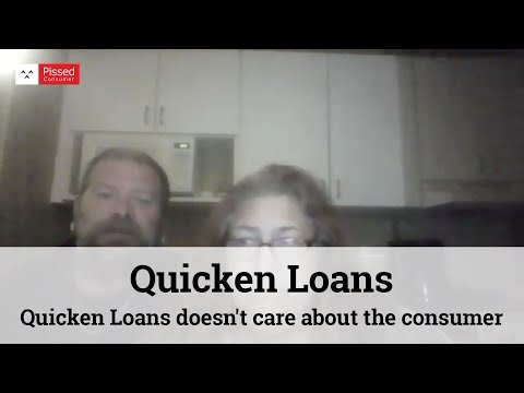 Quicken Loans - Out of Money and a home