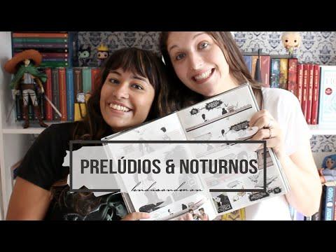 PRELÚDIOS E NOTURNOS | #LendoSandman ft. @may_sigwalt