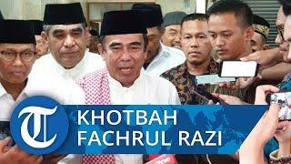 Menteri Agama Khotbah Jumat Tentang Toleransi di Masjid Istiqlal