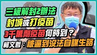 台北市本土病例+87 柯文哲防疫記者會