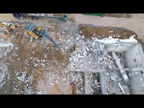 3 21 2017 – Aerial Video Peirce Island Wastewater Treatment Facility