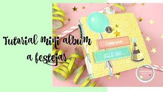 Tutorial mini album facil para cumpleaños * Creaciones Izzy