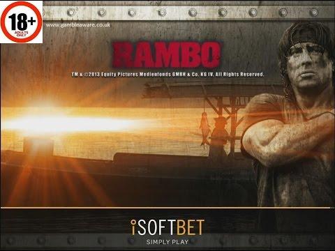 Rambo slot | ALL FEATURES + BIG WIN | iSoftbet