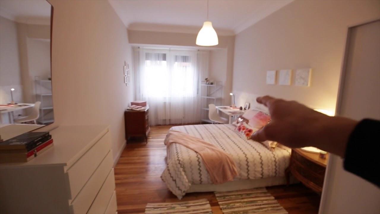 Rooms for rent in chic 4-bedroom apartment in Deusto