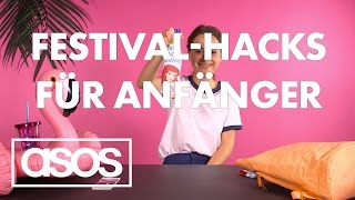 HOW TO Festival Für Anfänger | Janas Style-Hacks