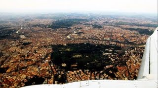 preview picture of video 'Rome from the Air - Scenic Landing at Rome Ciampino Airport (2013) [HD]'