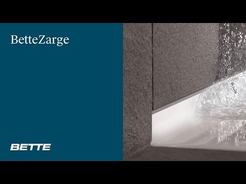 Badewanne / Duschwanne einbauen ohne Silikon - BetteZarge